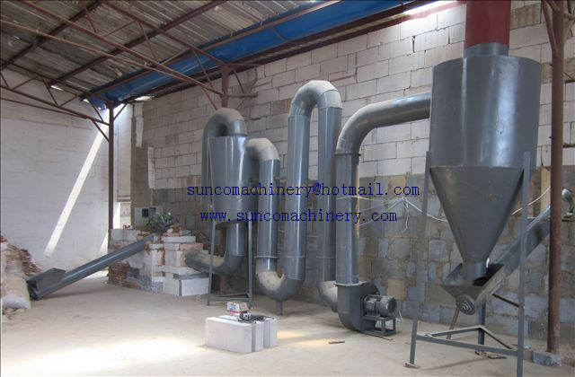 Saw Dust Flash Drying Machine, Airflow Sawdust dryer