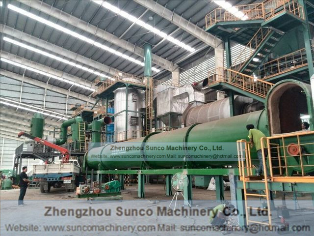 Thailand Chicken Manure Drying System , chicken manure dryer, chicken manure drying machine