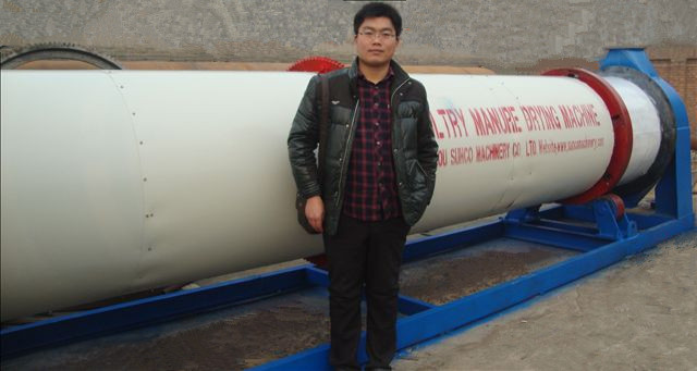 Rotary Dryer, Rotary Drum Dryer, poultry manure dryer