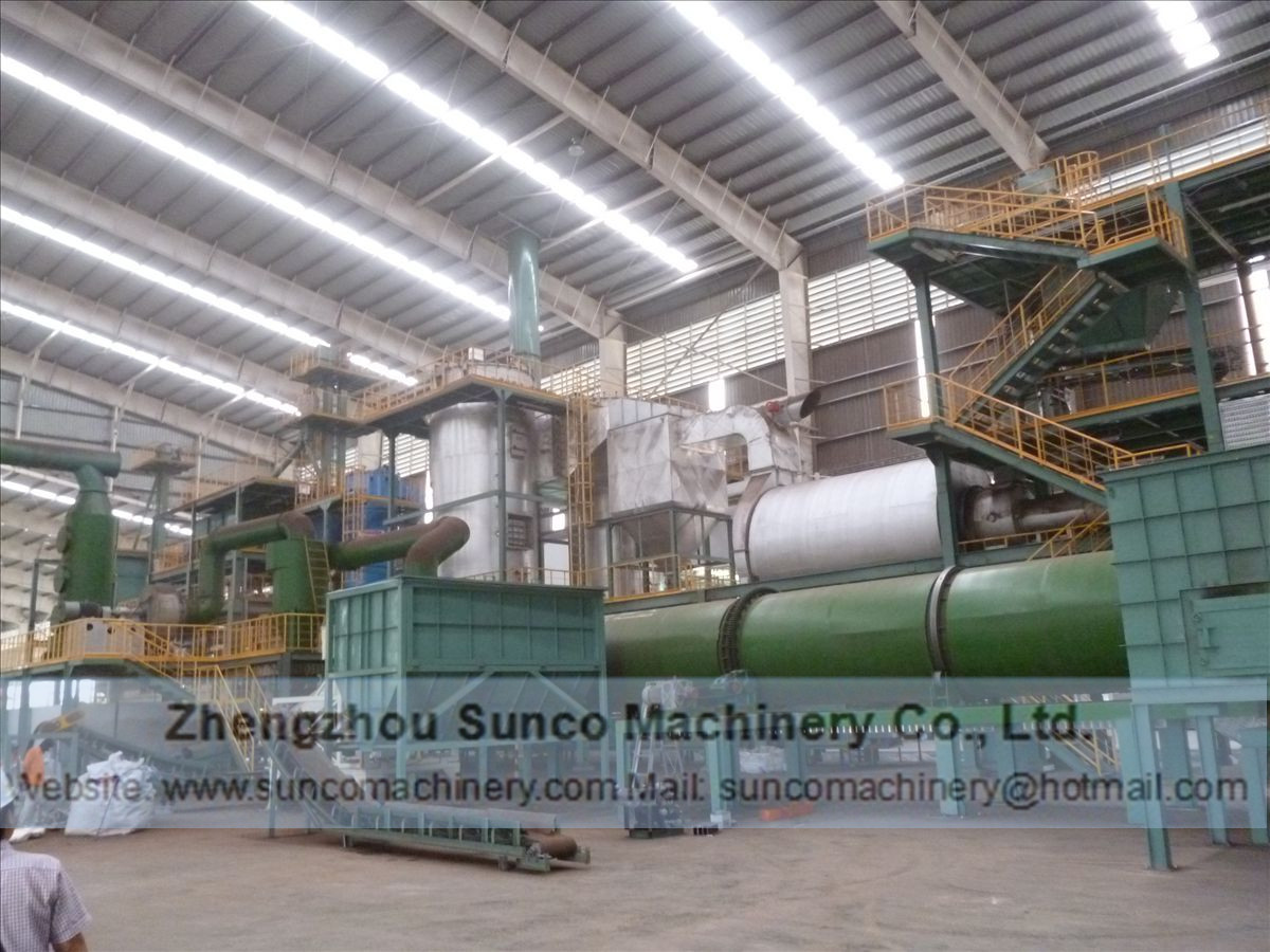equipment for the processing of poultry manure, poultry manure dryer, chicken manure dryer