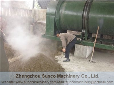 Efficient method for drying chicken manure, chicken manure dryer, poultry manure dryer, poultry litter drying machine