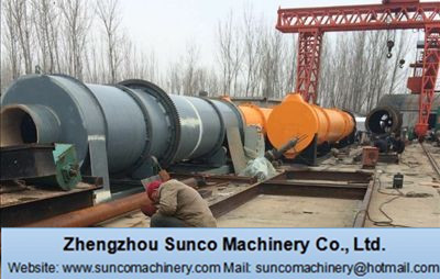Malaysia Hong Leong Group Placed one order to Sunco Machinery for 30 t/h Rotary Slag Dryer Project