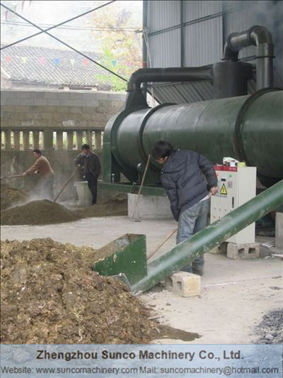 Small Scale poultry manure drying machinery, small poultry manure dryer, Small Chicken Manure Dryer