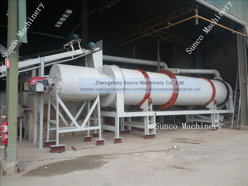 rotary drum dryer machine