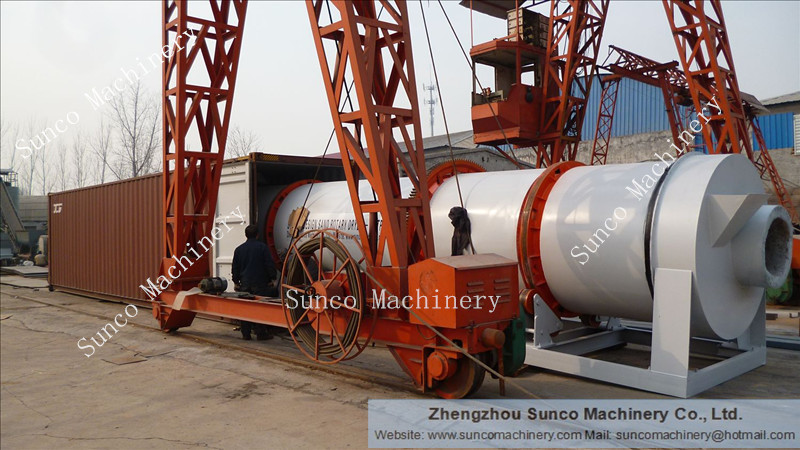 River Sand Screening & Drying Plant, River Sand Dryer, River Sand Drying Machine, Sand Dryer, Sand Drum Dryer