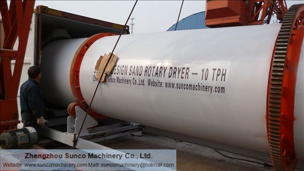Sand Drying Line, sand dryer, sand drying machine, sand drying system
