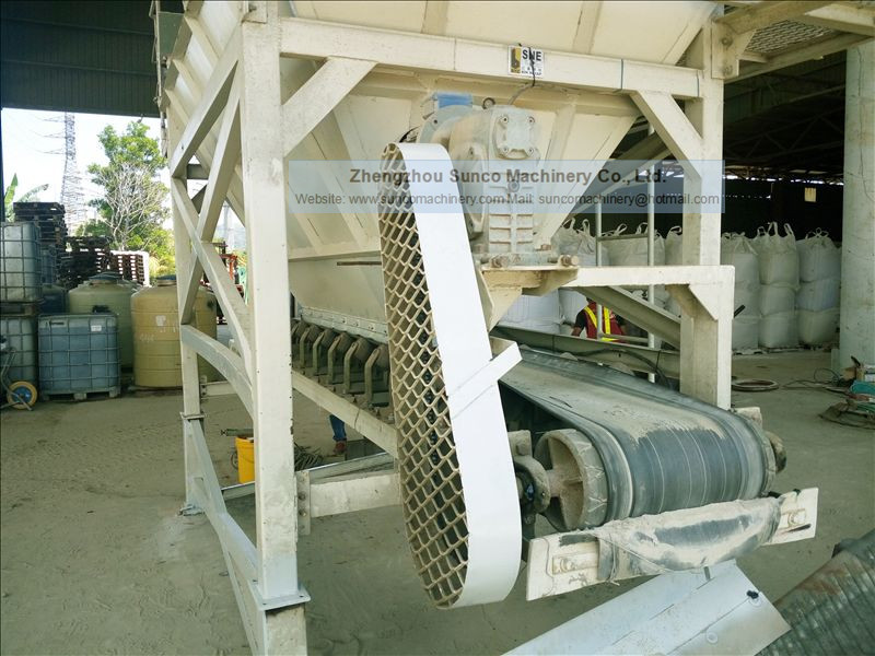 Mechanical Feeding Hopper for Sand Dryer
