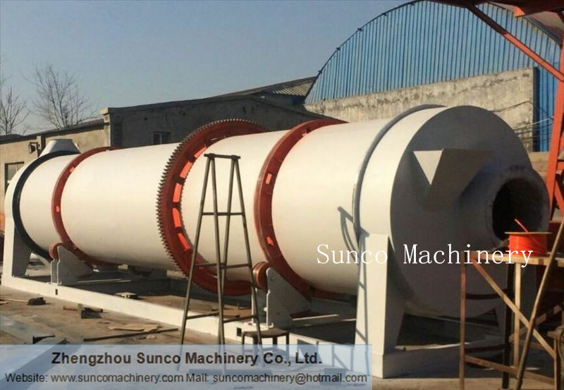 Rotary Sand Drying Machine, rotary sand dryer, sand dryer, sand dryer machine