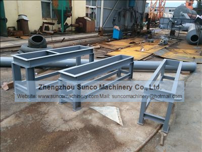 Steel Structure Support for Chicken Manure Dryer