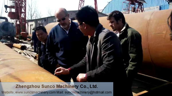 Argentina Customers for Chicken Manure Drying Machine
