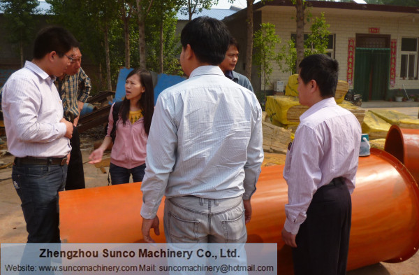 Thailand CP Group for fermented chicken manure dryer