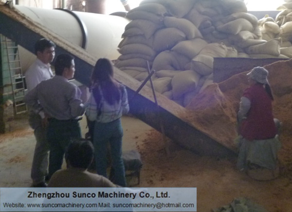 Thailand CP Group for fermented chicken manure dryer machine