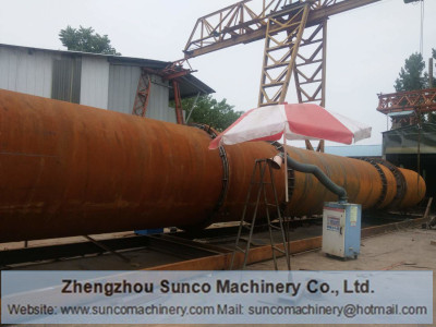 Poultry Manure Dryer Machine for Indonesia, Chicken Manure Dryer, chicken litter drying machine