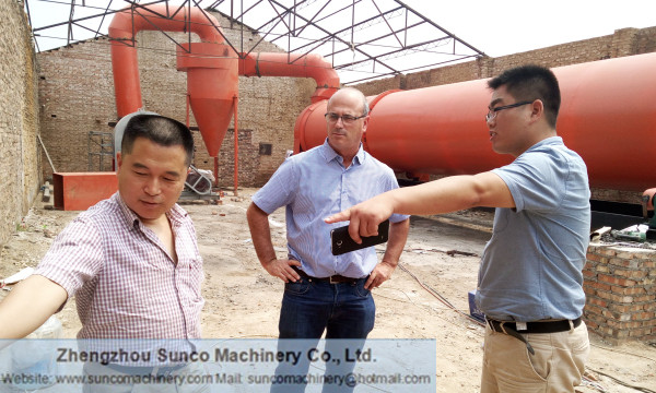 Drying Saw Powder Machine, rotary dryer for drying saw dust, sawdust dryer