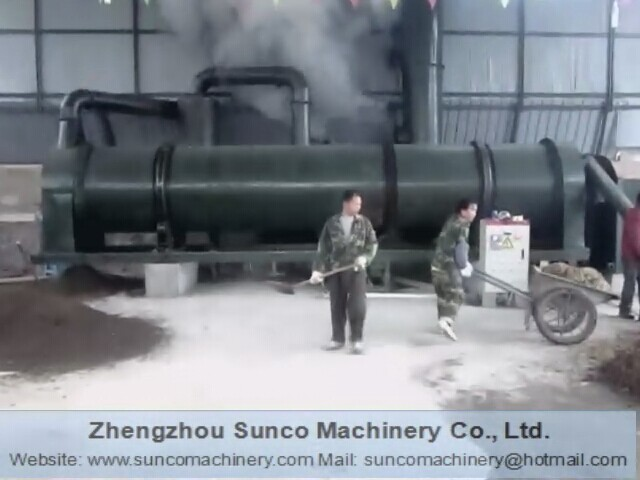 drum dryer for chicken manure, chicken manure drying machine, chicken manure dryer