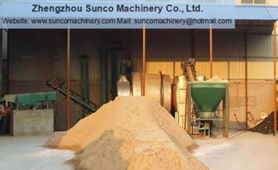 sand dryer machine, sand drying machine, silica sand dryer